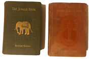 Rudyard Kipling The Jungle Book And The Second Jungle Book First Edition 1st Print