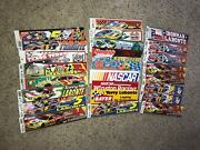 Huge Lot Of 25 Terry And Justin Labonte, Winston Racing Vintage Bumper Stickers