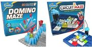Thinkfun Domino Maze Stem Toy And Logic Game For Boys And Girls Age 8 And Up - C