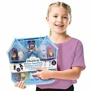 Kindi Kids Necklace Activity Set Frozen 2 Jewelry Girls Charms With Carry Case