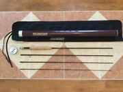 Sage Zxl 590-4 9ft 5wt 4pc Fly Fishing Rod W/tube And Sock For 5wt Line Reel
