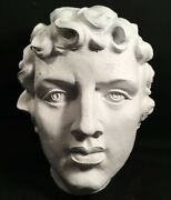 Classic Greek Bust. Extra Extra Large. David Or Apollo. Hollow Plaster.