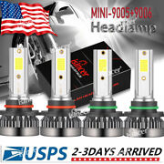 Isincer 9005+9006 Combo Led Headlight Kits 120w High/low Beam Bulbs 6000k White