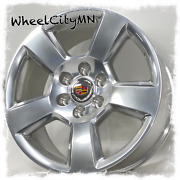 20 Polished Clear Coated 2018 Chevy Tahoe Oe Replica Rims Fits Escalade 6x5.5