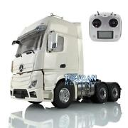 Lesu 1/14 Rc 66 Metal Chassis Gearbox Hercules Cabin Tractor Truck Radio Sound