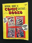 Official Guide To Comic Books And Comic Collectibles, 1974, Hal Cohen, Good Cond.