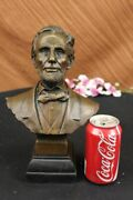 Collector Edition Abraham Lincoln 16 President Of The United States Bronze Decor