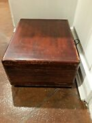 Antique 1951 Emerson 703b Phonograph Turntable Record Player Five Tube Am Radio