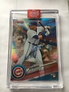 Ian Happ Auto 1/1 Rc 2017 Bowman Best Refractor Topps Archives Chicago Cubs