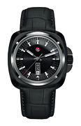New Rado Hyperchrome 1616 Black Dial Leather Band Menand039s Watch R32171155