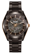 New Rado Hyperchrome Automatic Open Heart Brown Dial Menand039s Watch R32028302