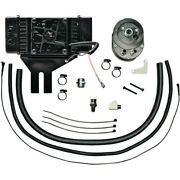 Jagg Oil Coolers 10-row Oil Cooler Kit - With Fan - Low-mount   751-fp2500