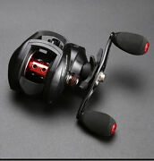 Baitcasting Fishing Reel With 8.11 High-speed Ratio And 8 Kg Braking Force