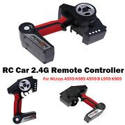 Replacement 2.4g Remote Controller For Wltoys A959 K989 A959-b L959 K969 Rc Car