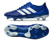 Adidas Men Copa 20.1 Fg Cleats Football Blue White Soccer Gym Boots Spike Eh0884