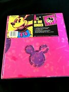 Brand New With Tag Vintage Mead Electric Mouse All In One Binder