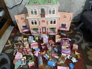 Fisher Price Loving Family Grand Mansion Victorian Dollhouse Furnished Rare