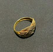 Old Antique Gold Ring From Burma Pyu Culture