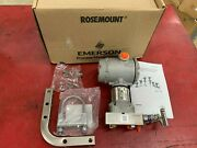 New In Box Rosemount Transmitter 3051s1cg4a2a11a1jm5 With 0305rc22b11b4
