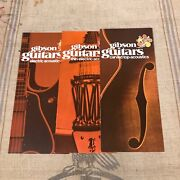 3 Original 1970 Gibson Guitars Electric Acoustic And Carved Top Acoustic Pamphlets