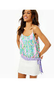 Nwt - Lilly Pulitzer Womenand039s And039ainsleyand039 Multicolor Unicorn Of The Sea Top - S