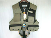 Columbia Men's Fly Fishing Vest L/xl And Pacific Fly Landing Net Nwt