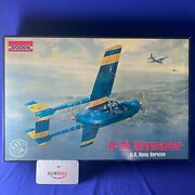 Us Navy O-2a Skymaster Scout Cold War 1/32 Scale Plastic Model Kit Roden 632