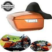 Amber Whiskey King Tour Pak Pack For Harley Street Road Electra Glide 97+