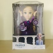 Disney Frozen 2 Into The Unknown Singing Elsa Doll Musical Feature/frozen Doll
