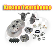 Vw Front 2.5dropped Lower Spindle Disc Brake Conversion Kit 5x130porschewilwood