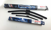 Bosch Wiper Blades Set With Spoiler Front+rear Bmw 3er E91 Touring Wipers