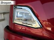 Top Headlight Chrome Frame For New Gen Scania R And S Series 2017+ Highline Cab