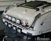 Roof Bar + Leds + Spots + Clear Beacon For Daf Xf 106 2013+ Superspace Cab Truck