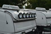 Roof Bar + Leds + Spot Lamps For Scania New Gen R And S Series 17+ High Cab Top