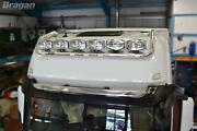 Roof Bar + Spot Lights + Amber Beacon For Mercedes Actros Mp4 Big Space Chrome