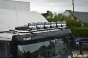 Roof Bar + Leds + Spot Lights For Iveco Stralis Cube + Hi-way Active Day Low Cab