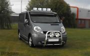Roof Bar + Jumbo Spot Lamps + Leds For Iveco Daily 1999-2006 Steel Top Light Bar