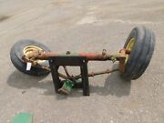 Spieco Tractor Wide Front End W/ Tires And Rims Tag 447