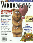Wood Carving Illustrated Magazine, Animal Projects  Spring, 2020 Issue .90