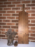 Reclaimed American Wormy Chestnut Cheese Serving Bread Platters Boards