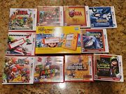 Nintendo 2ds Super Mario 3ds Plus 10 Games Bundle. All Brand New And Sealed.