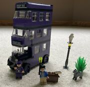 Lego Harry Potter 4755 Knight Bus Original 2004 Edition - Complete W/box And Instr