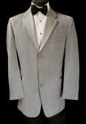 Nice Stunning Menand039s Chaps Grey Dinner Jacket Best Quality Tuxxman