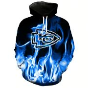 Nfl Kansas City Chiefs V1 Menand039s 3d Printed Full Over Hoodie