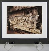 Berenice Abbott 1989 Color Lithograph Of Circa 1935 Photograph Of New York City