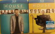 House Md Seasons Six And Seven Blu-ray Dvd Disc 2011 5-disc Sets 6 7 Sealed