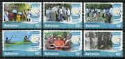 Bahamas Scouting Stamps 2015 Mnh Girl Guides 100 Years 1915-2015 Scouts 6v Set