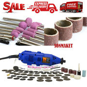 2307 Variable Speed Rotary Tool Kit Dremel Rotary Grinder Cutter 100-piece