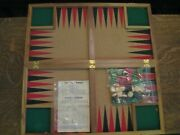 Multigammon Game Parker Brothers 1940 Extremely Rare Bakelite Pieces