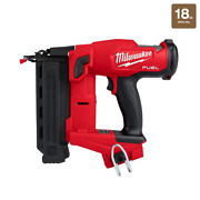18 Volt Lithiumion Brushless Cordless 18gauge Brad Nailer Light Weight Tool Only
